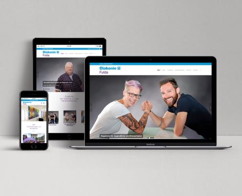 Webdesign Projekt - Diakonie Fulda