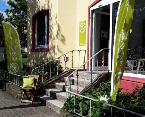 Café Wunderbar - Eingang